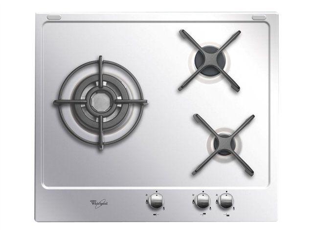 Whirlpool table inox gaz 60cm 3 feux - akt615ixl - Achat Plaque de ... b7136a0b2793