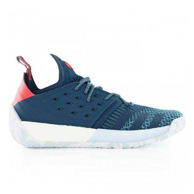 d2e84f1438d5 Adidas - Chaussure de Basketball James Harden Vol.2 Step Back Bleu pour  homme Pointure - 43 1 3 - pas cher Achat   Vente Chaussures basket -  RueDuCommerce