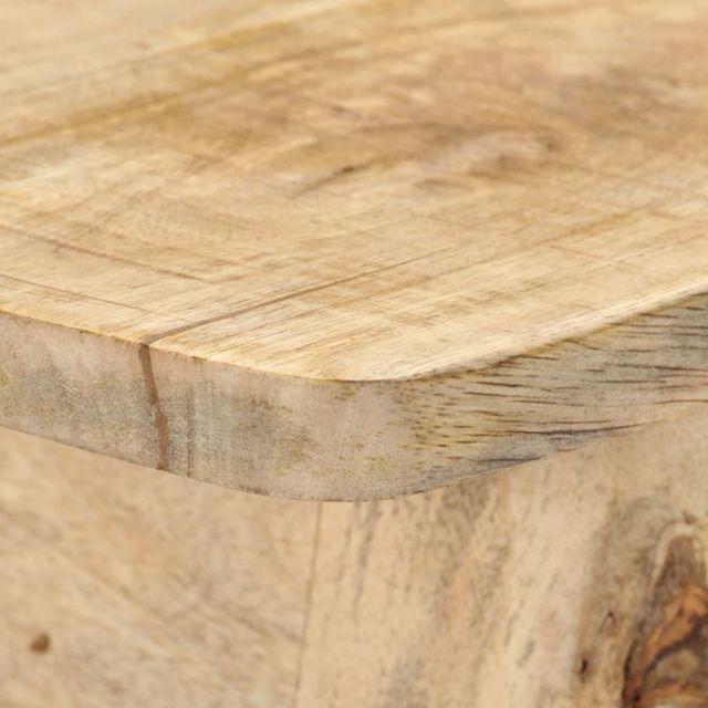 Icaverne - Tables d'appoint ensemble Table console 115x40x75 cm Bois de manguier massif brut