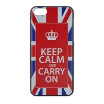 Made In France - Coque rigide Keep Calm Uk pour iPhone 5C