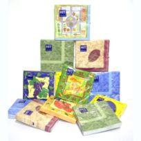 Tersol - Serviettes papier 12 paquets de 20 de 33 cm Hit