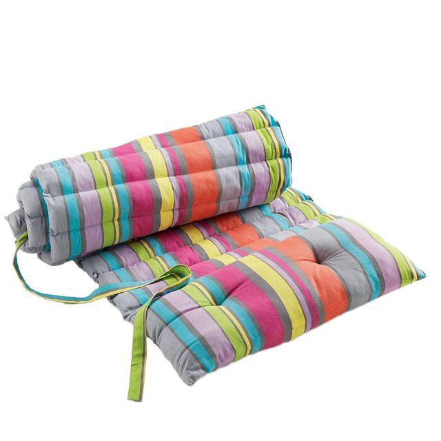 fred olivier coussin bain de soleil marina multicolore 60x180 cm pas cher achat vente. Black Bedroom Furniture Sets. Home Design Ideas