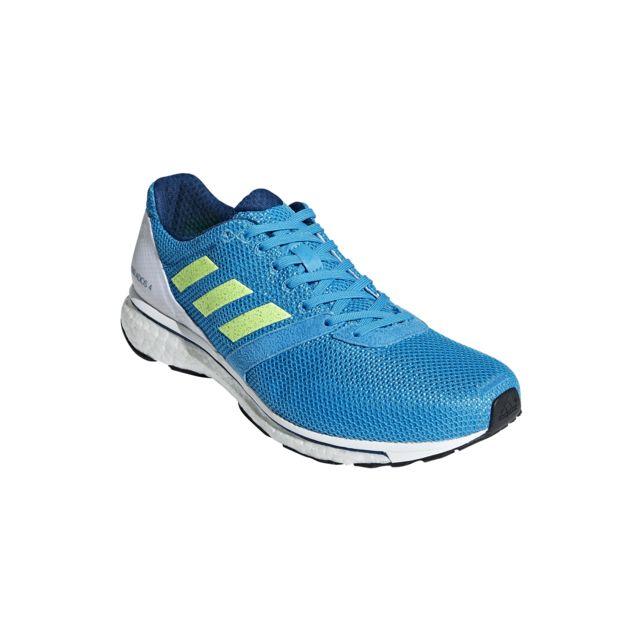 Détails sur adidas Hommes Adizero Adios 4 Chaussures De Course À Pied Baskets Sport
