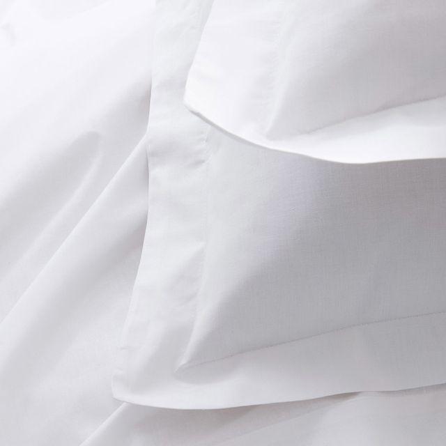 Today - Parure de lit housse de couette + taie + drap housse uni 100% coton 57 fils/cm2 Plain - Chantilly - 140x200cmNC