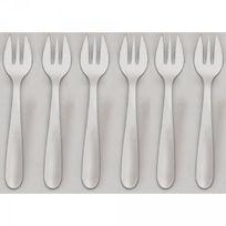 JEAN DUBOST - lot de 6 fourchettes à huîtres - 11219