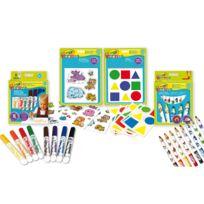 Crayola Mini Kids - Coffret créatif : L'essentiel des tout-petits