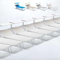 Beach And Garden Design - Bain de soleil transat taille maxi profe