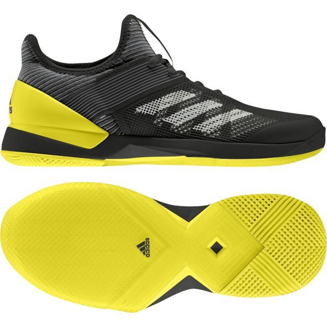 size 40 82fe7 4f340 Adidas - Chaussures femme adizero Ubersonic 3.0 Clay - pas cher Achat   Vente Chaussures tennis - RueDuCommerce