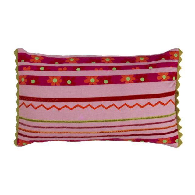 mon beau tapis coussin persienne 50x30 rose pas cher achat vente coussins rueducommerce. Black Bedroom Furniture Sets. Home Design Ideas