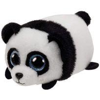 TY - Teeny Tys-Peluche Puck le panda 8 cm