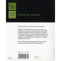 Hachette - cuisine de l'étudiant