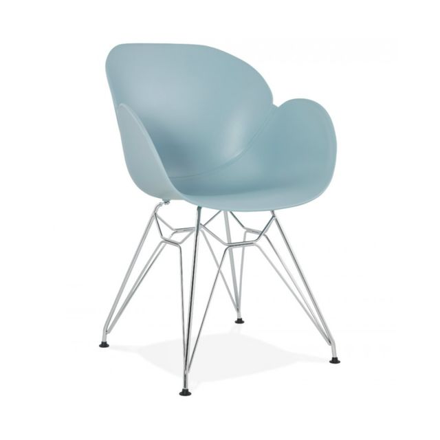 Kokoon Design Fauteuil design Chipie Blue 59x57,5x85 cm