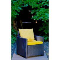 Coussin D\'EXTERIEUR - Coussin De Bain De Soleil - Coussin De Chaise De  Jardin Set de 2 coussins Assise + Dossier pour salon de jardin Oslo - 54 x  50 x ...