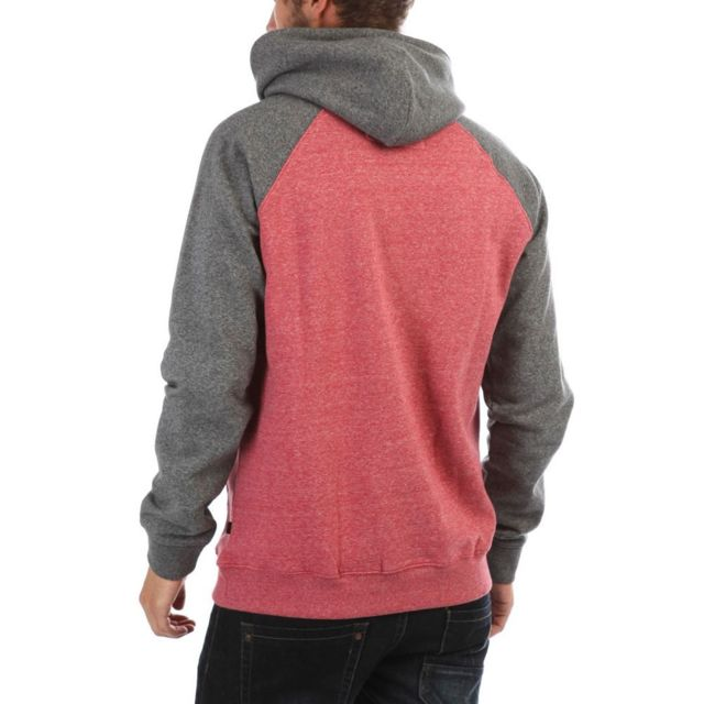 Sweat à capuche bordeaux homme Everyday Multicouleur Xxl