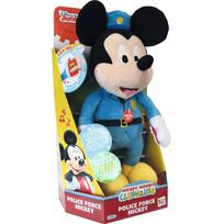 Imc Toys - Mickey - Peluche Mickey policier - 182028