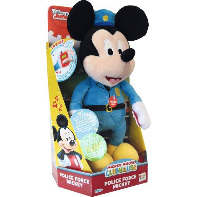 DISNEY - MICKEY - Peluche Mickey policier - 182028