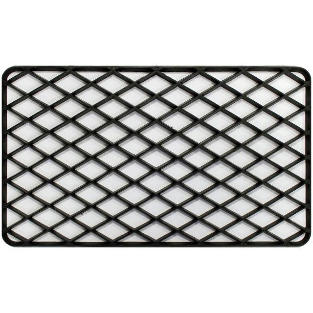 promobo paillasson grille tapis entre pice extrieur antidrapant pvc noir pas cher achat vente tapis rueducommerce - Tapis Exterieur