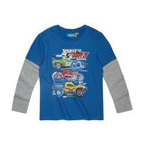 Hotwheels - Hot Wheels Garcon Tee-shirt manches longues