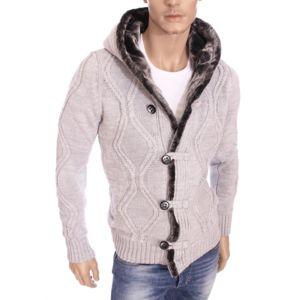 Veste a capuche homme hiver