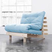 Karup - Banquette convertible en bois avec matelas futon Roots