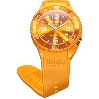 Thirsty Watch - Montre homme o? femme Thirsty Papaya unisex Bo-papaya