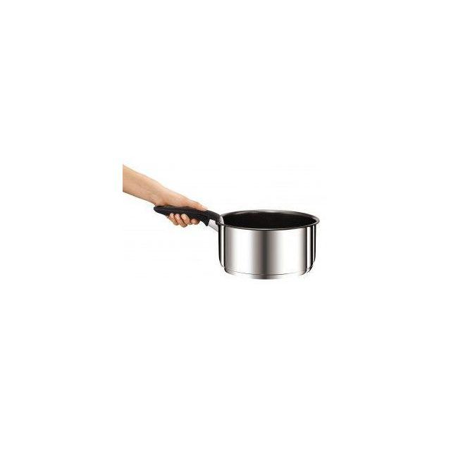 TEFAL - Ingenio Série 3 Casseroles 16-18-20 Inox + 1 Poignée L9419502