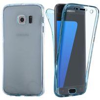 Lapinette - Coque En Gel Intégrale Pour Samsung Galaxy A5 2017 - Bleu