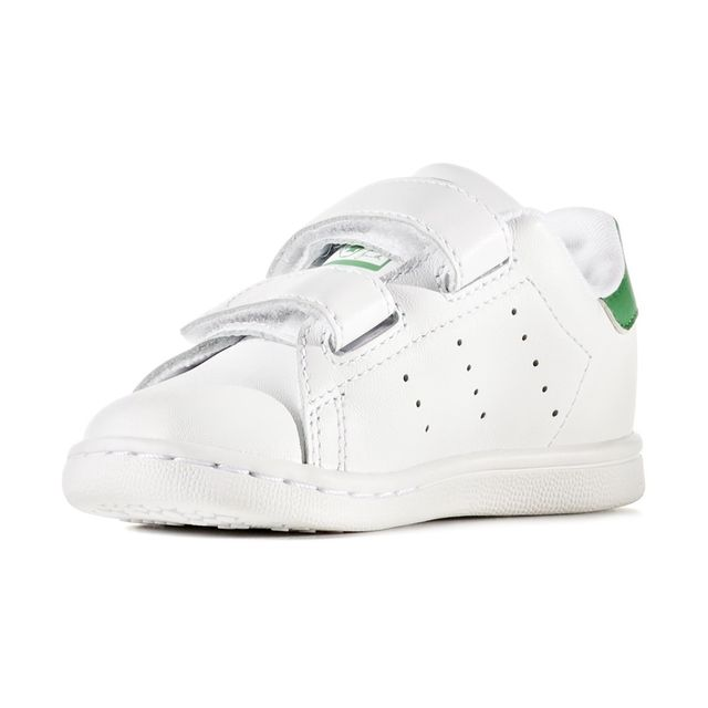 basket adidas bebe pas cher vert blanc