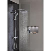 colonne douche angle achat colonne douche angle pas cher rue du commerce. Black Bedroom Furniture Sets. Home Design Ideas