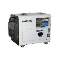 Hyundai - Groupe Electrogène Insonorisé Diesel 5300W Monophasé - Dhy6000SE