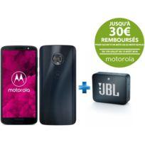 MOTOROLA - Moto G6 - Bleu + JBL Go 2 - Bleu Marine
