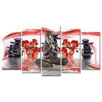 Declina - Cadre bouddha zen sur toile imprim?e - Vente tableaux zen