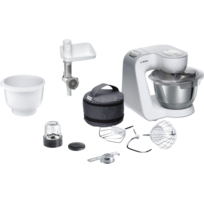 Bosch - Kitchen machine MUM58244 silver blanc