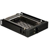 ENERMAX - Rack mobile 3,5'' pour 2 HDD/SSD 2,5'' SATA/SAS - Hot Swap - Serrures avec clé de sécurité