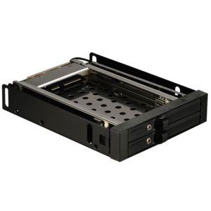 enermax rack mobile 3 5 39 39 pour 2 hdd ssd 2 5 39 39 sata sas hot swap serrures avec cl de. Black Bedroom Furniture Sets. Home Design Ideas