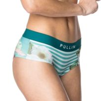 Pull-in - Pull In Shorty Femme Microfibre Elvis Bleu