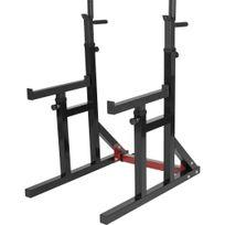 Gorilla Sports - Multi Rack à squat et developpé couché règlable