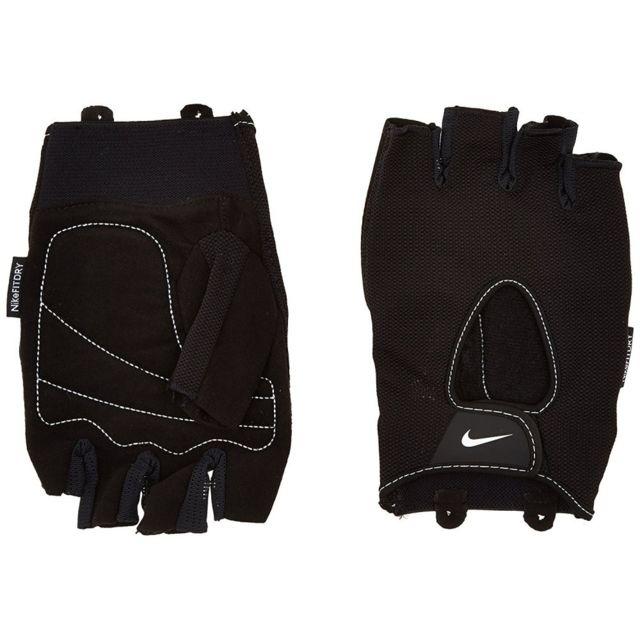 Nike Core Lock Training Femme Gants Fitness Noir Noir L