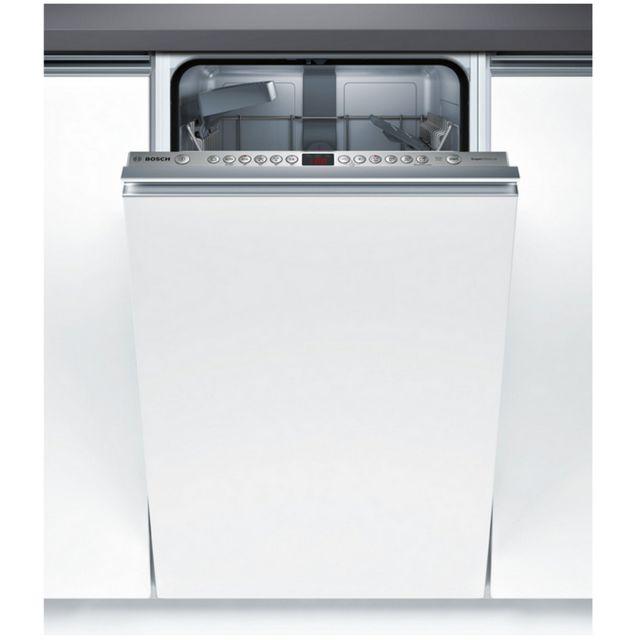 bosch lave vaisselle 45cm 9c 44db a tout int grable spv46ix01e achat lave vaisselle a. Black Bedroom Furniture Sets. Home Design Ideas