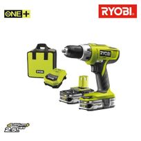 perceuse visseuse a percussion r18pd ll26s 18v 2.6ah ryobi