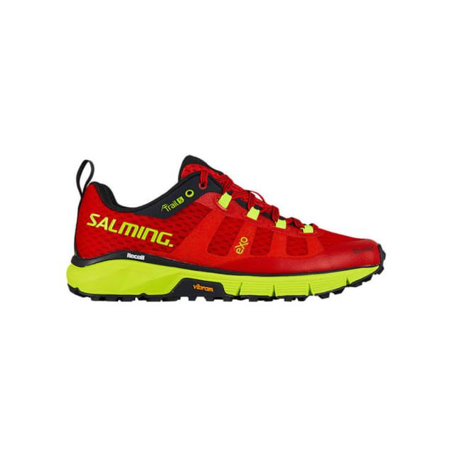 Salming Chaussures Trail 5 rouge jaune femme