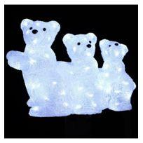 Jja - 3 ours lumineux 80 Led