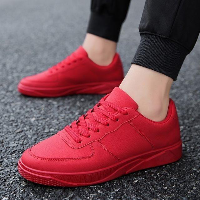 Wewoo Chaussures Tête ronde confortable couleur unie de
