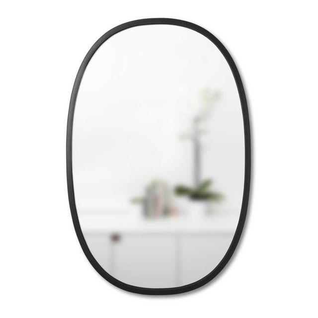 Umbra Miroir Hub Oval 91 cm Noir