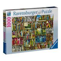 Ravensburger - Puzzle 1000 pièces bibliothèque magique