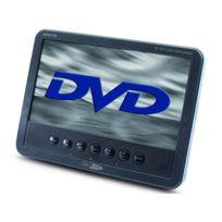 CALIBER AUDIO TECHNOLOGY - Lecteur DVD portable MPD-178