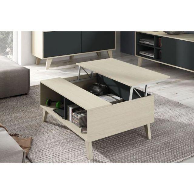 table basse grise pas cher table basse jade coloris gris. Black Bedroom Furniture Sets. Home Design Ideas