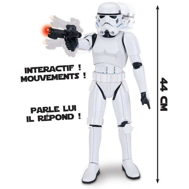 STAR WARS Storm Trooper Interactif de 44 cm -7912
