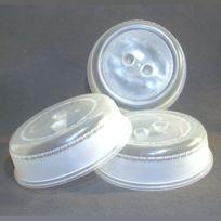 Plasticos De Galicia - Protecteurs cloches x3 de 21cm pour Micro-Ondes