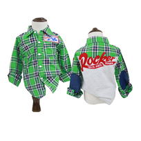 Glareola - Chemise carrelée pour enfant garçon, vêtement enfant garçon, Chemise pour garçon de 1 à 7 ans